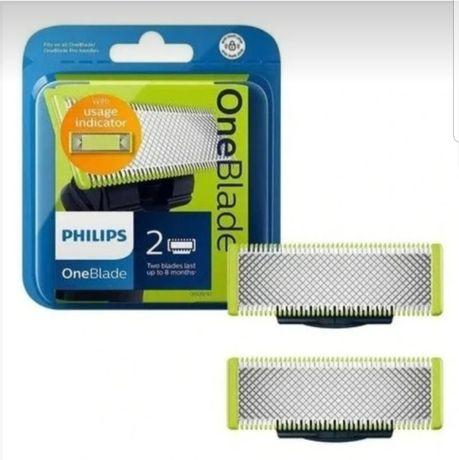 Philips OneBlade One Blade QP220/50 2x nowe ORYGINALNE ostrze ostrza