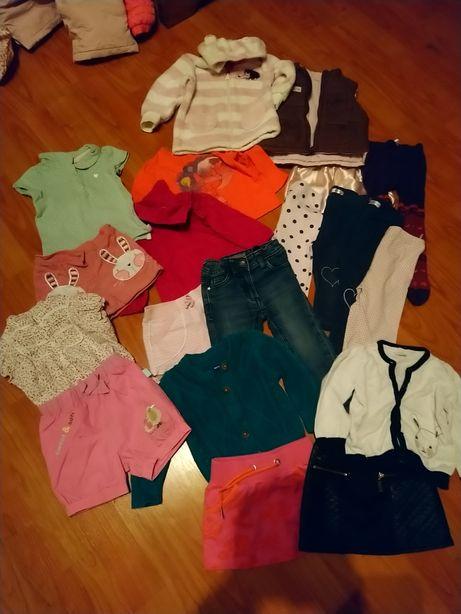 Komplet dla dziewczynki r 74 paka ubran zestaw handmade h&m zara c&a