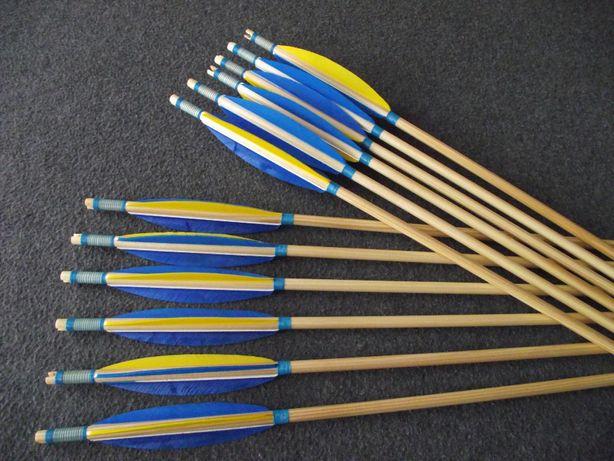 41-45 świerk nr 577 Komplet strzał do łuku strzały strzała drewniana
