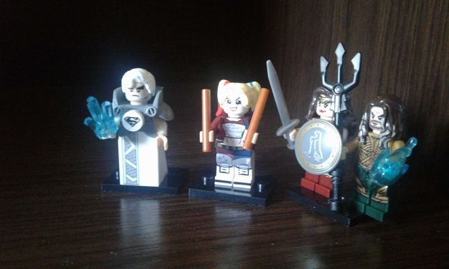 Lego Super Heroes Marvel DC Ninjago Nexo minifigures XINH