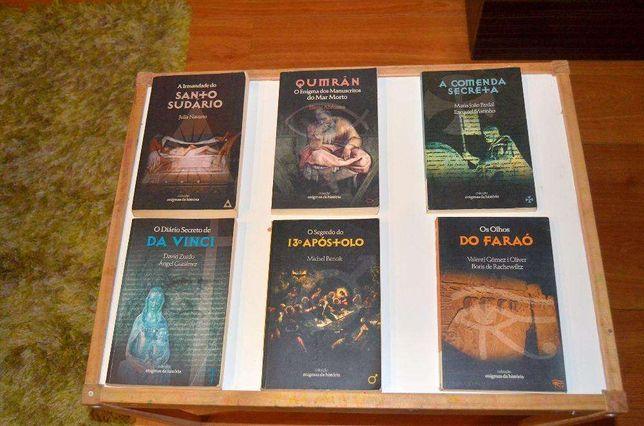 Coleção Enigmas da História - 11 Livros
