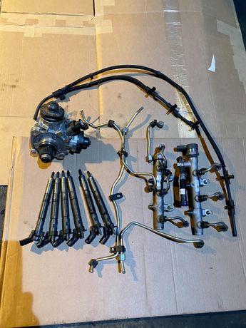 Wtryski komplet układ paliwowy audi a6 a7 vw 3.0 tdi 2019r CRT DXX CZZ