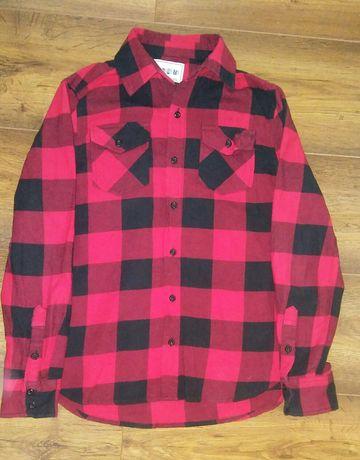 Koszula czarno - czerwona