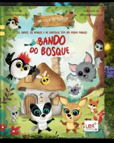 Livro Bando do Bosque 2 Pingo Doce