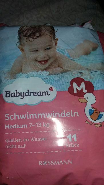 Продам памперсы для купания.