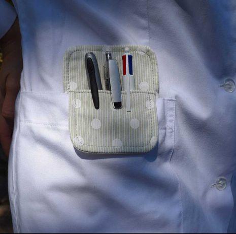 Porta canetas para bata/farda