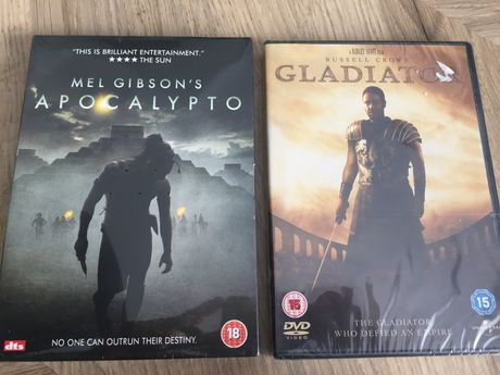 DVD Gladiator/Apocalypto