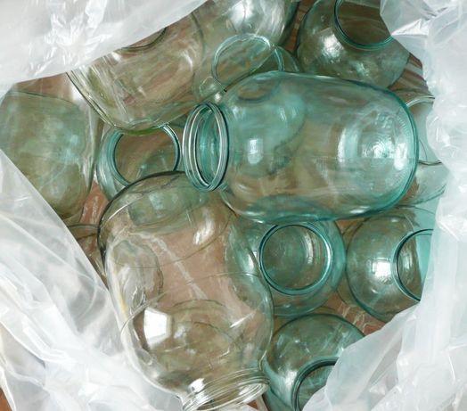 Продам/обменяю 3 л. стеклянные банки/бутыля