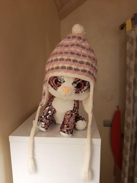 Зимняя шапка для девочки фирмы Reima с 4 мес.-1,6 лет.