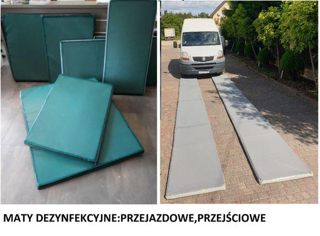Mata dezynfekcyjna przejazdowa /PROMOCJA/70x400x5cm/PRODUCENT