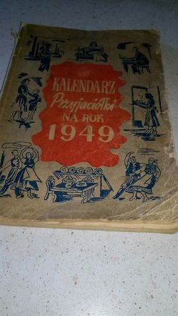 Kalendarz Przyjaciółki na rok 1949