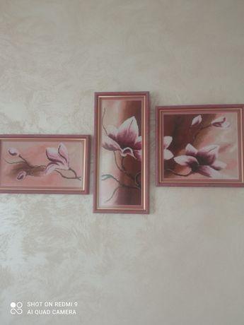 Триптих орхідея .