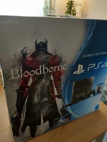 PS4 + 2 pady + 4 gry, konsola w oryginalnym pudełku