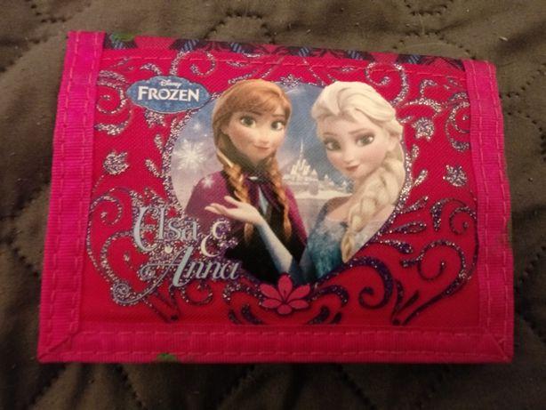 Portfel z Elsa i Anna