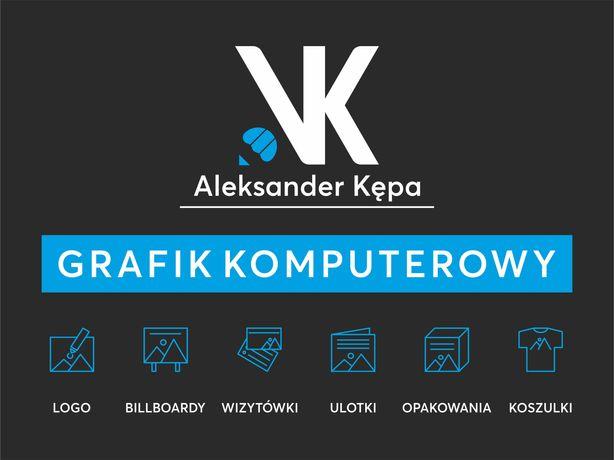 GRAFIK KOMPUTEROWY / Projekty / Logo / Wizytówki / Plakaty / Reklama