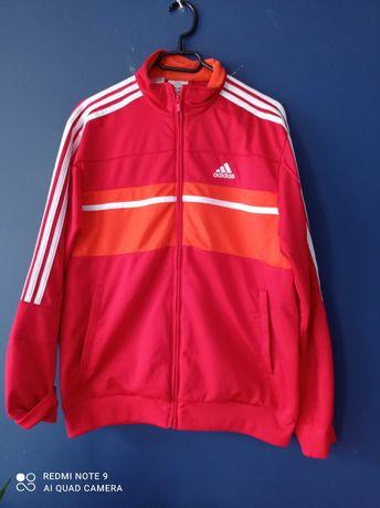 Bluza adidas xl czerwona