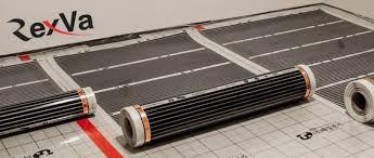 Инфракрасная нагревательная пленка для теплого пола, 50, 80, 100 см.
