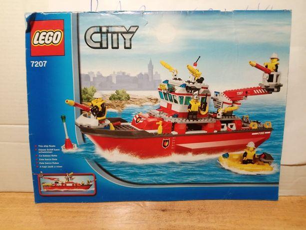 Lego City 7207 Fire Boat