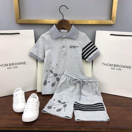 Детский подростковый летний костюм THOME BROWNE