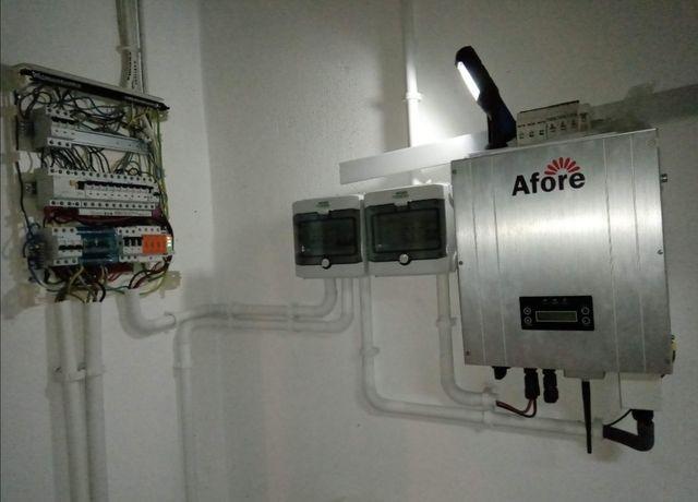 Usługi elektryczne elektryk alarmy monitoring fotowoltaika PV odbiory