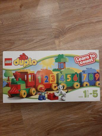 Lego duplo 10558 - pociąg z cyferkami