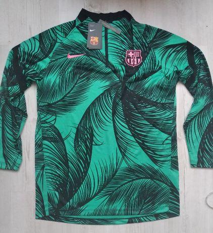 Bluza Nike FC Barcelona Przedmeczowa treningowa rozmiar L Nowa z metka