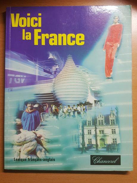 "KSIĄŻKA ""Voici la France"" do nauki francuskiego, francuski"