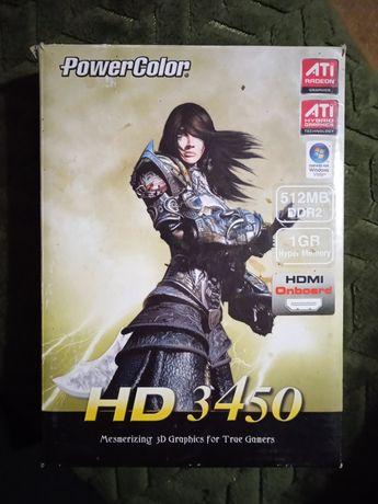 Відеокарта ATI RADEON ™ HD 3450 GPU