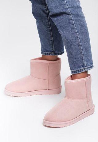 Buty Różowe pudrowe