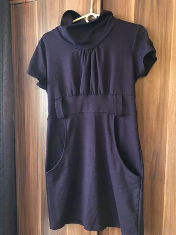 Sukienka tunika fioletowa rozmiar 40 L