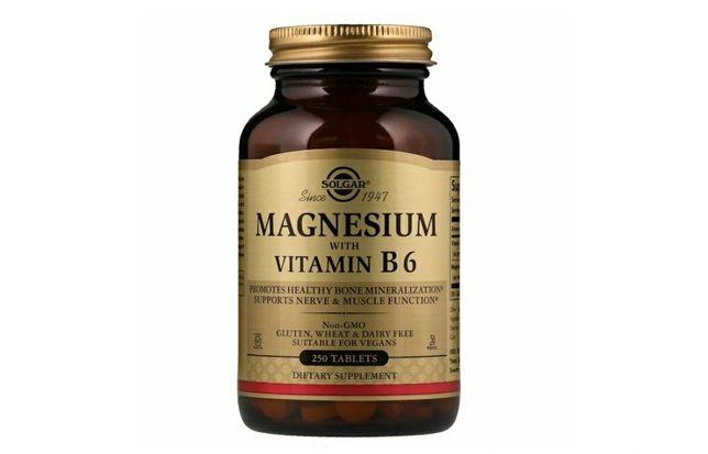 Магний solgar, magnesium B6 250 штук.