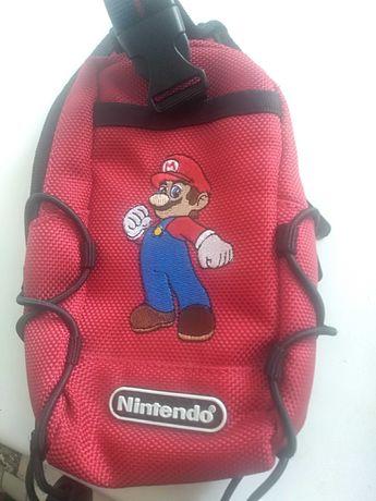 Сумочка чехол для приставки Nintendo switch n carry Mario
