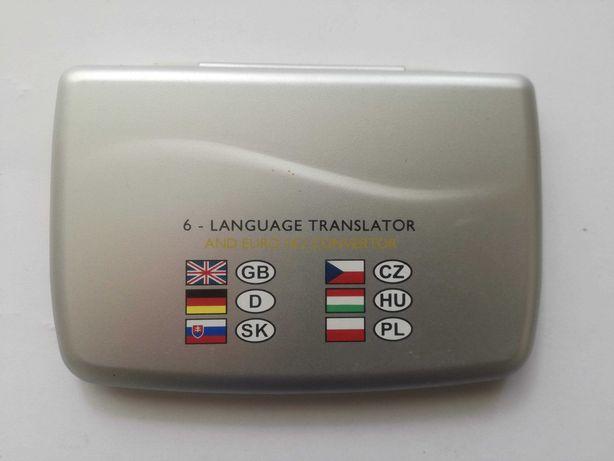 6-Language Translator and Euro Convertor