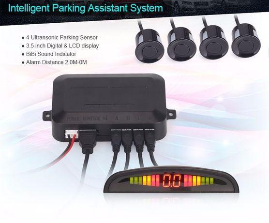 Sensores de Estacionamento Localizadores e OBD