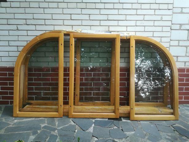 Вікно з дерева/окно с дерева