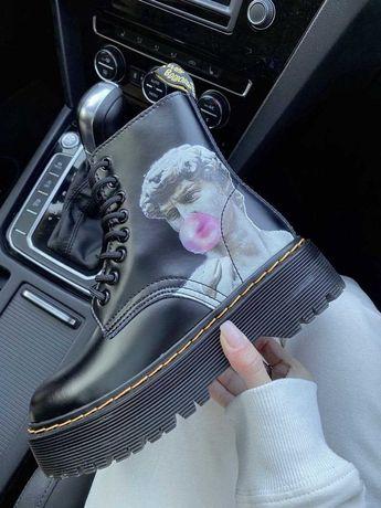 Женские ботинки Dr. Martens 36-40 Топ! Кожа! Наложка! Хит сезона!