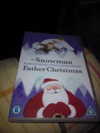DVD-the Snowman .Father Christmas(на англ. языке).