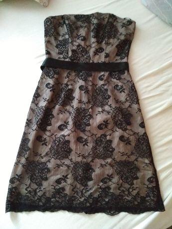 Sukienka koronka czarna