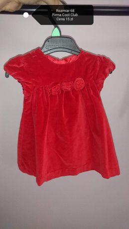 Ubranka dla dziewczynki, rozmiar 68