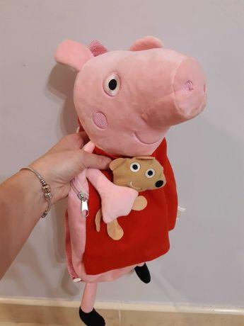 Plecak i dwie torebki Peppa