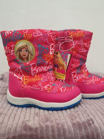 Новые сапожки Kakadu Barbie для девочки