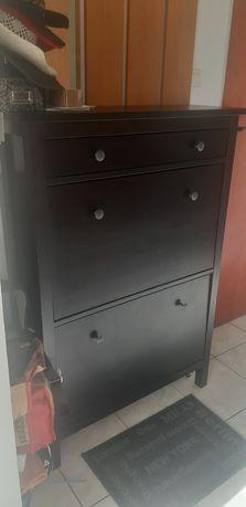 Szafka na buty -  Hemnes Ikea-czarna