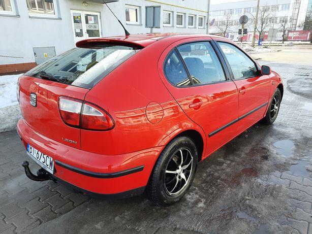 Seat Leon 2000r 1.6 benzyna z klimatyzacja