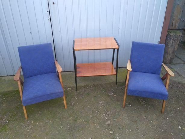 fotele var b-310 oraz stolik rtv patyczak zestaw.