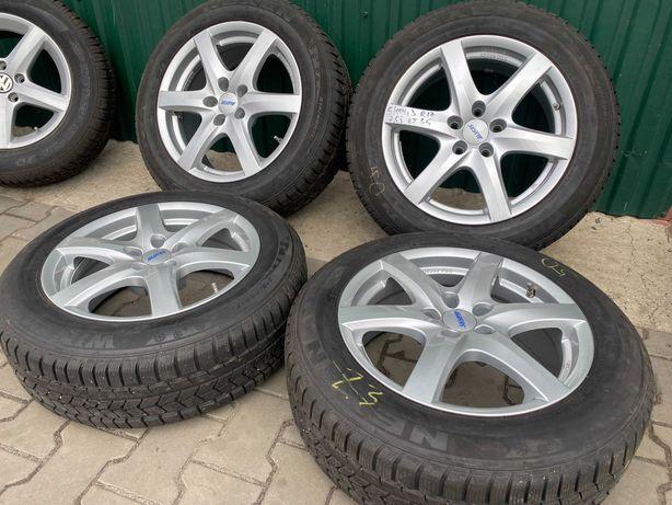 Диски Nissan Juke Qashqai 5/114.3 R17 7.5J ET35+ 215/60R17 Nexen 8+мм