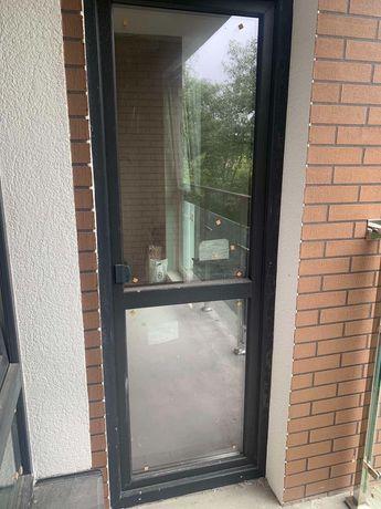 Металопластикові двері.