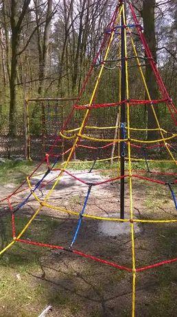 plac zabaw liny do wspinaczki wspinaczkowe małpi gaj lina 16 mm