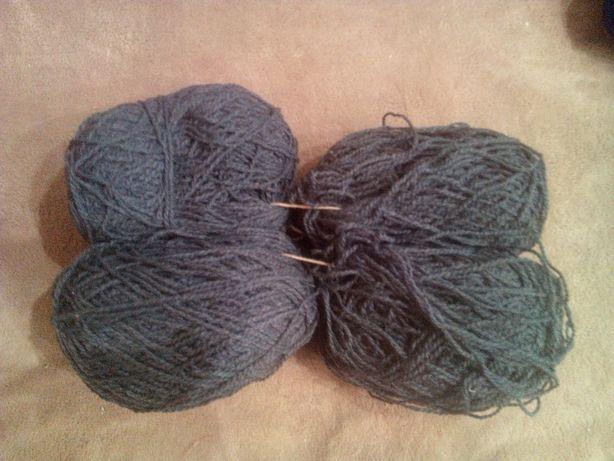 Нитки для вязания шерстяные