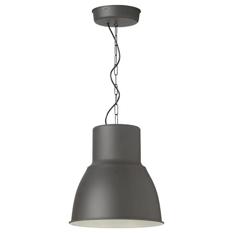 Klosz IKEA lampa wisząca HEKTAR 165CM (biała)