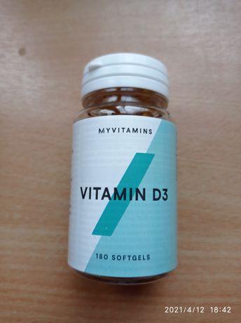 Витамин D3 в капсулах